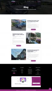 Autoglass France page Blog