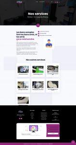 Autoglass France page service